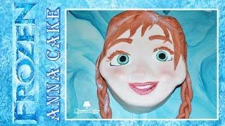 Disney Frozen Fever Cake - Anna (How to make) Oscar Winner 2014!
