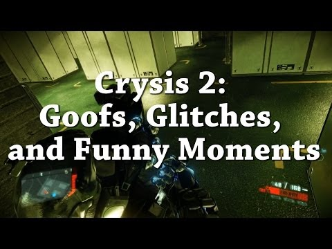 Crysis 2: Goofs, Glitches, and Funny Moments