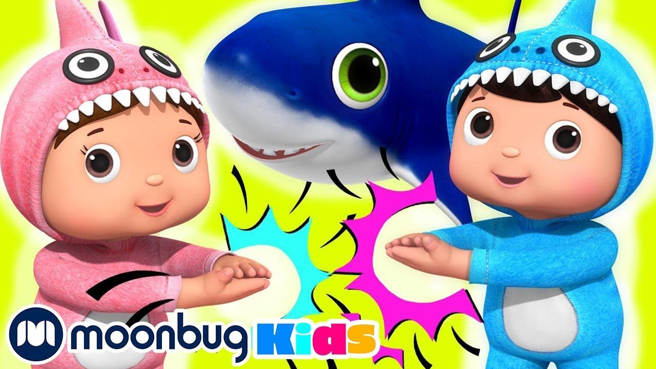 Baby Shark Dance   Educational LBB Songs   Learn with ...