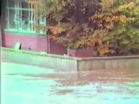 Floods in Omagh 1987