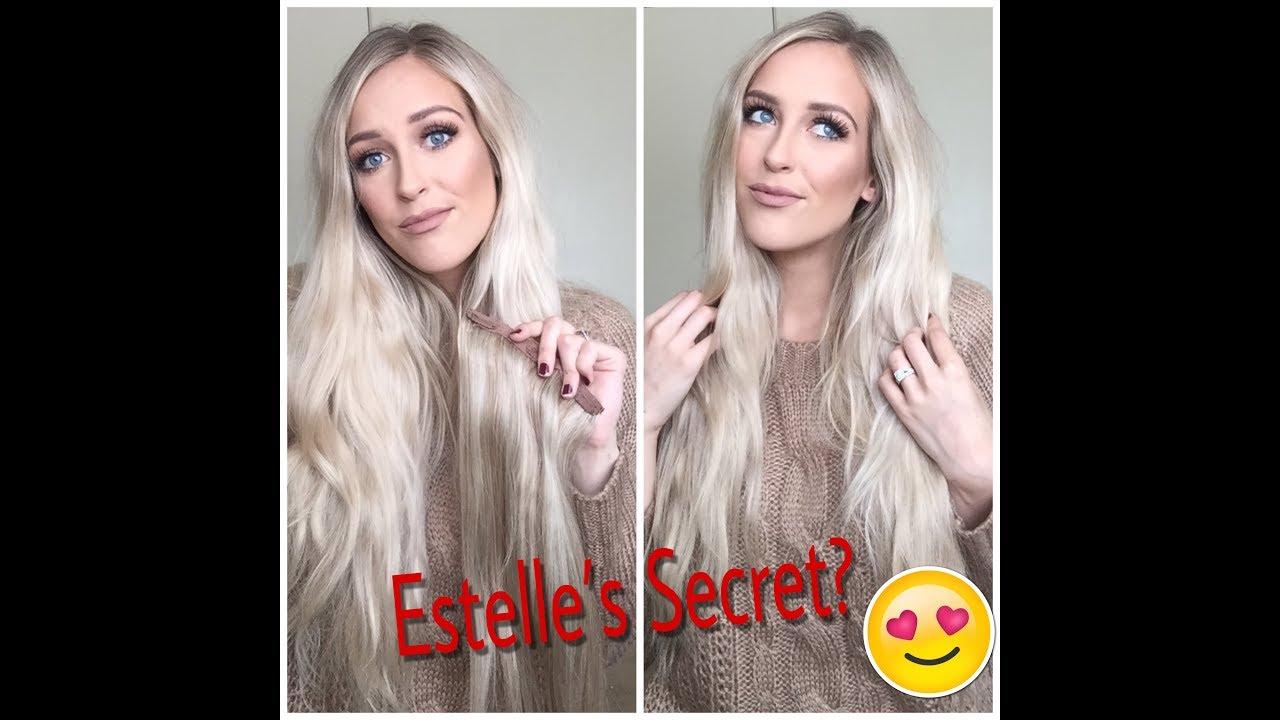 estelles secret hair extensions review    good youtube