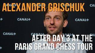 Paris Grand Chess Tour: Alexander Grischuk On Blitz ⚡ Time Controls thumbnail