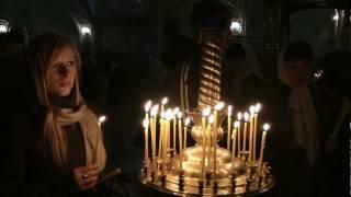 Пасха в Котельниче(В этом видео от нашей киностудии Вы увидите ночную Пасхальную службу в Никольской церкви., 2011-04-24T10:39:17.000Z)
