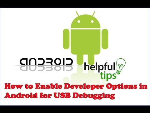 How to Enable Developer Options in Android for USB Debugging