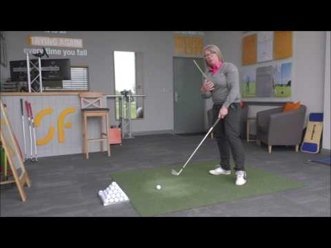 Best drill to strike solid, accurate golf shots - turn through impact