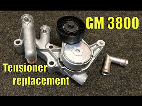 How to replace a belt tensioner on GM 3.8 3800 1995 to 2005 (EP 88) accessories