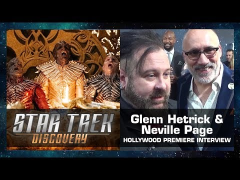 Thumbnail: Glenn Hetrick & Neville Page Interview - Star Trek: Discovery Hollywood Premiere (Sept. 19, 2017)