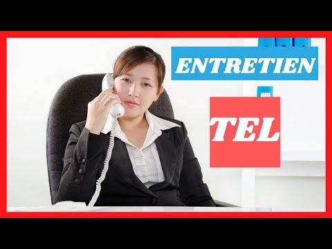 🎯COMMENT REUSSIR SON ENTRETIEN D'EMBAUCHE TELEPHONIQUE?