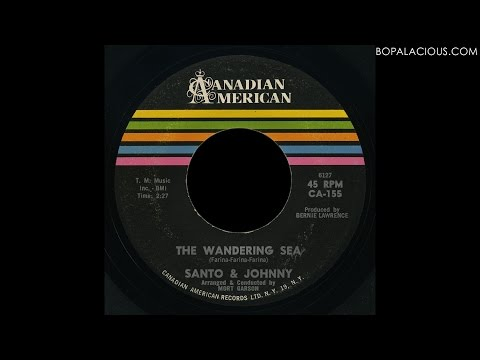 Santo & Johnny - The Wandering Sea - Canadian American