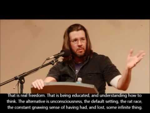 This Is Water - Full version-David Foster Wallace Commencement Speech