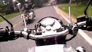 Royal Enfield in Dawn Patrol Memorial Day Motorcycle Ride 2011 New Jersey, USA