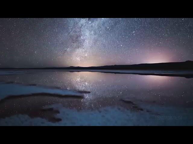 Звездное Небо Красивое видео, романтическая музыка и ночное небо 1