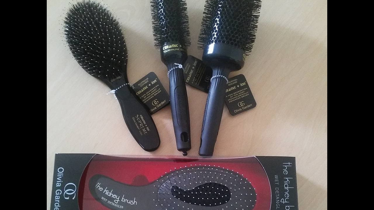 Olivia Garden Brushes Review