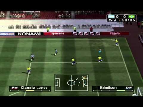 Pro Evolution Soccer 3 - BRAZIL vs ARGENTINA (PC)
