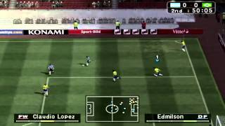 Pro Evolution Soccer 3 - BRAZIL vs ARGENTINA (PC)