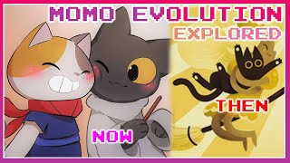 Momo's Adventures Explored   Google Doodle Momo The Cat Evolution