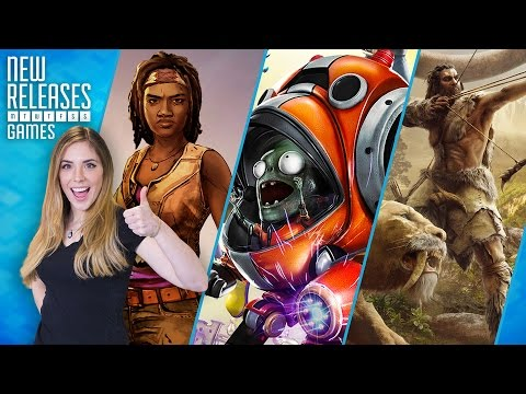 Far Cry Primal, Plants Vs Zombies 2, Walking Dead - New Releases