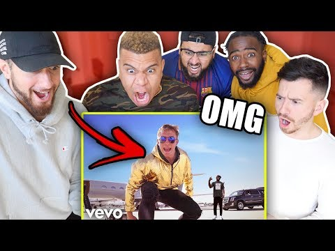 REACTING TO JAKE PAUL'S IT'S EVERYDAY BRO REMIX FEAT. GUCCI MANE