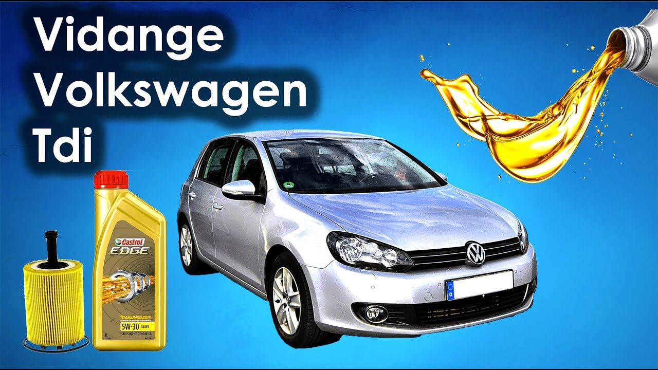 hight resolution of vw mk6 tdi 110 oil and filter change