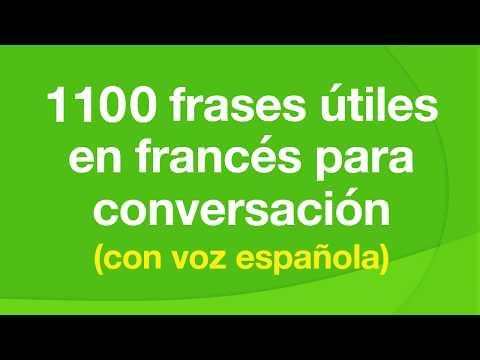 1100 frases útiles en francés para conversación (con voz española)