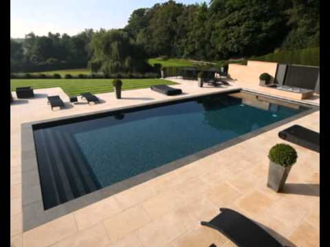 Large and Small Compact Swimming Pools with Various Design Models ...