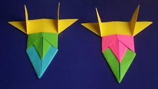 оригами гоночная машина //  origami racing car