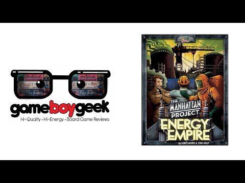 The Manhattan Project: Energy Empire Review with the Game Boy Geek
