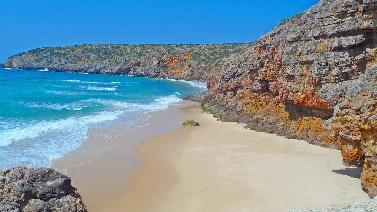Beach: Praia Das Furnas Beach Algarve (HD)