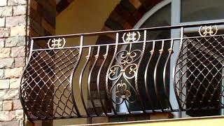 видео Кованые французские ограждения