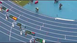 توفيق مخلوفي يحتل المرتبة الثانية فيسباق 1500متر ويأخذ الميدالية الفضية