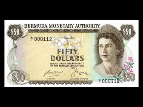 All Bermudian Dollar Banknotes - 1974 to 1988 Issues