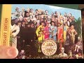 BEATLES Sgt Pepper 50th Anniv. Deluxe 2 CD UNPACKAGING