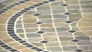 Palazetto Mosaic Bistro Table - Product Review Video