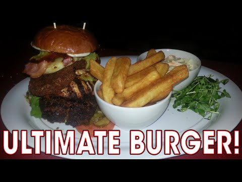ULTIMATE BURGER CHALLENGE in Edinburgh, Scotland!!