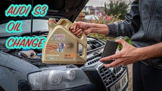 Audi S3 8p Oil Change