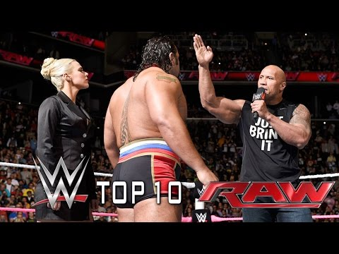 Top 10 WWE Raw moments - October 7, 2014