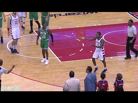 Brandon Jennings vs Terry Rozier, Brad Stevens gets mad (05/04/2017)