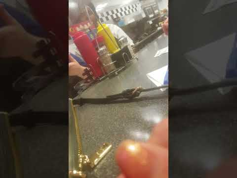 Confronting steak and shake employee for credit fraud