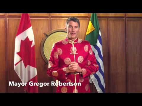 Lunar New Year greetings from the Mayor