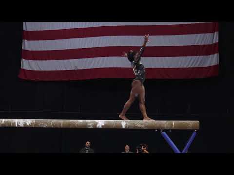 Simone Biles - Balance Beam -  2018 U.S. Gymnastics Championships - Senior Women Day 1