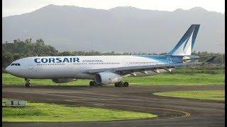[Flight Report] CORSAIR | Fort-de-France ✈ Paris | Airbus A330-300 | Business