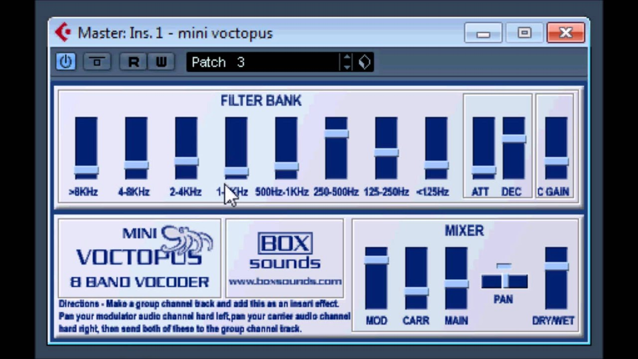 Vocoder Filters - 7 Free Awesome VST Plugins for Mac and Windows