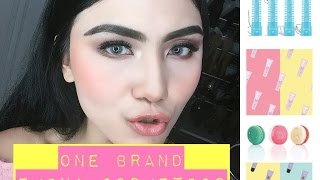 one brand skin care makeup tutorial   emina cosmetics