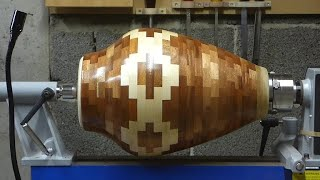 Woodturning - My biggest segmented vase