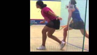 Raneem el Welleily v Rachel Grinham US Open Squash 2011 video