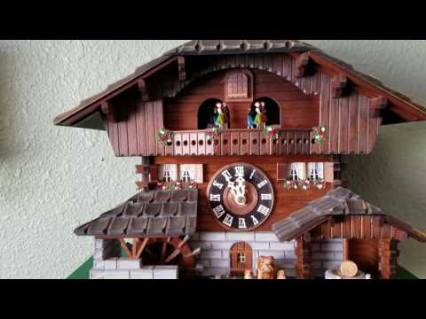 1990 Loetscher Swiss Cuckoo Clock