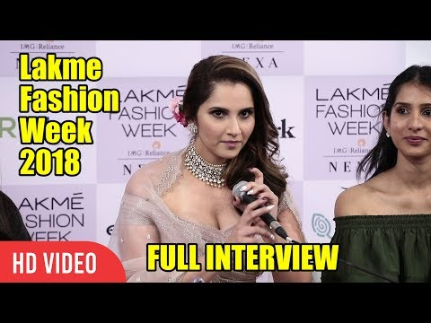 Chit Chat With Sania Mirza | Lakme Fashion Week 2018 | LFW 2018 Day 04