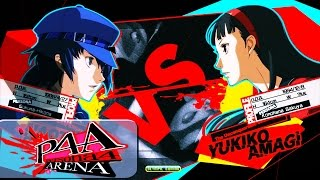 Persona 4 Arena Ultimax replay of ARNIEcad (Naoto Shirogane) going ...