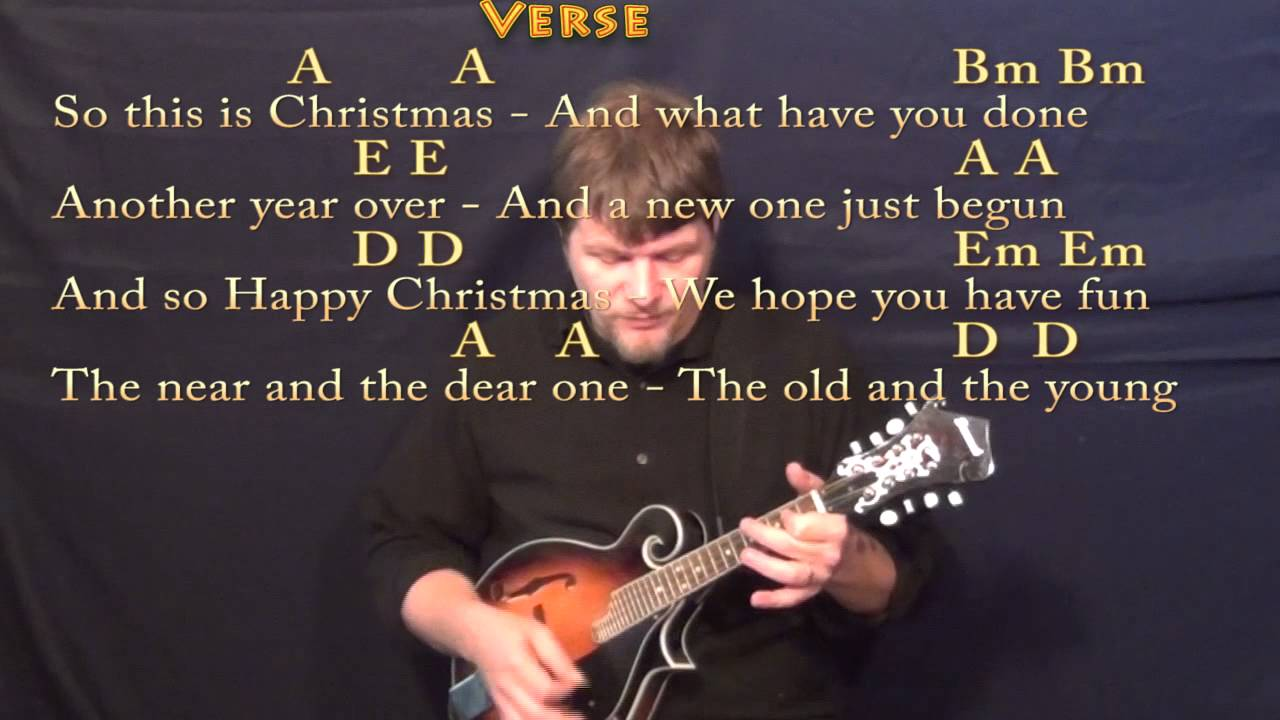 Happy x mas war is over mandolin cover lesson in a w chords happy x mas war is over mandolin cover lesson in a w chordslyrics hexwebz Images