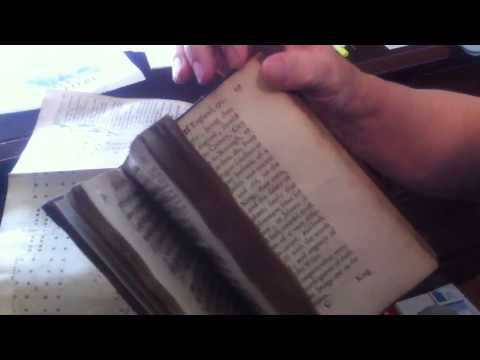 Rare Ancient Books! 300 Years Old!